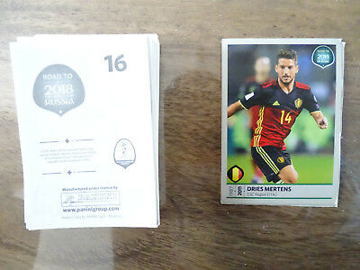 27 Vignettes Panini Stickers Road To 2018 Russia Football Fifa World Cup