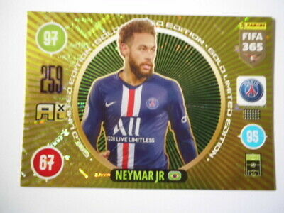 Panini Adrenalyn xl Fifa 365 2021 Limited Edition Gold Neymar JR