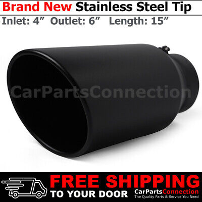 stainless truck angled black 15 inch