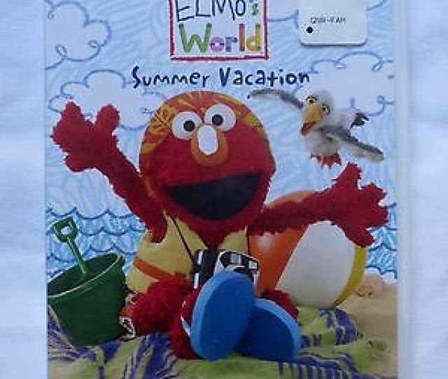 Summer Vacation Elmos World Sesame Street Region 1