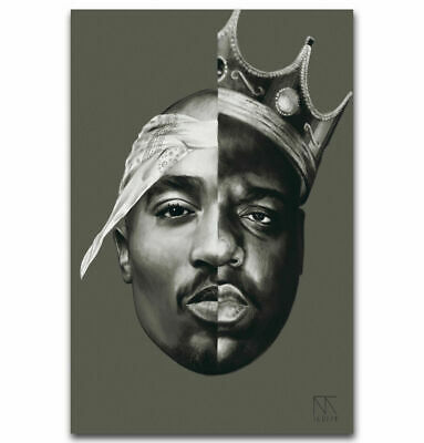 b 205 the notorious b i g crown poster