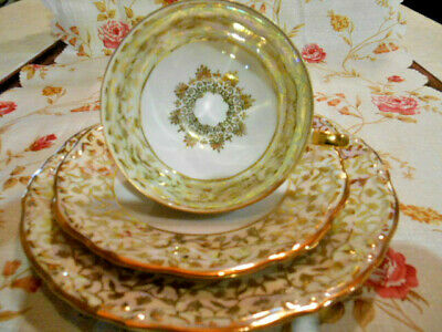 Coffee table setting collecting cup, porcelain, each 3-part, Bavaria Germany Very nice