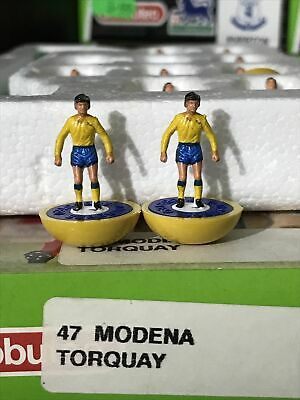Subbuteo LW Team - Modena Torquay Ref 47 Beautiful Team Perfect RARE