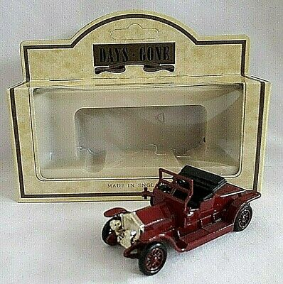 Lledo 1907 Rolls Royce Silver Ghost Coupe Red Car Diecast Boxed 45001