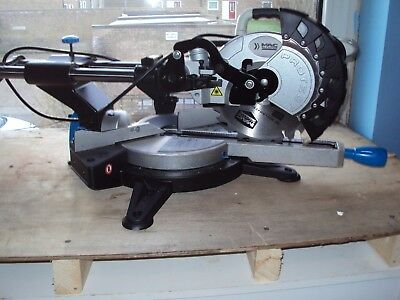 Macallister Sliding Mitre Saw Also Evolution Folding Stand Brand New