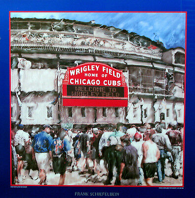 Wrigley Field Home of the Chicago CUBS Poster - Own It Now!