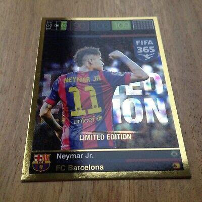 Panini  Adrenalyn XL FIFA 365 -Limited Edition  Neymar Jr.