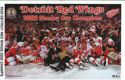 detroit red wings collage yzerman hull