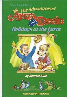 Image result for The Adventures of Aliza & Dovid: Holidays at the Farm