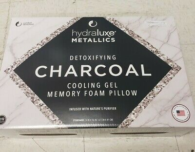 hydraluxe charcoal pillow online