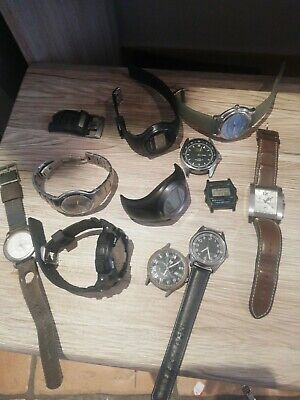 Vintage Watch Lot All The Watch Works