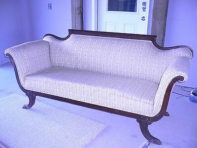 Antique Duncan Phyfe Sofa. 1900 1950 Sofas Chaises Furniture Antiques 618  Items Picclick