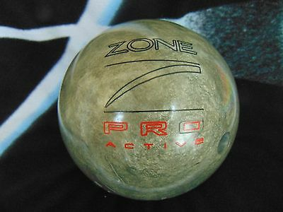 BRUNSWICK ZONE PRO Active Bowling Ball 15 Lbs 8 Oz Purple Pre Owned 2700 PicClick