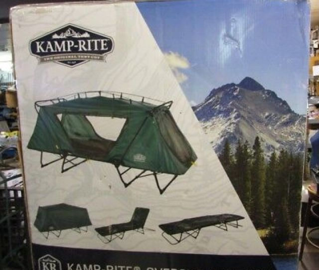 Kamp Rite Oversize Tent Cot Folding Outdoor Camping Hiking Bed For  Person