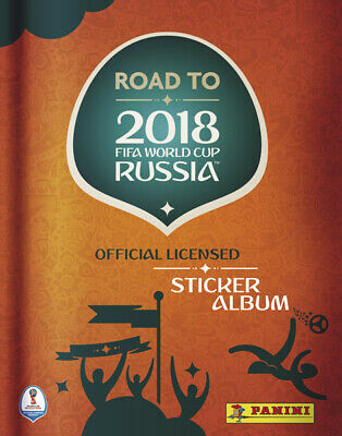 Panini 2018 FIFA WORLD CUP RUSSIA + ROAD TO Lot de 15 images stickers au choix
