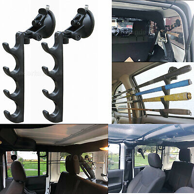 fish fishing pole holder for car