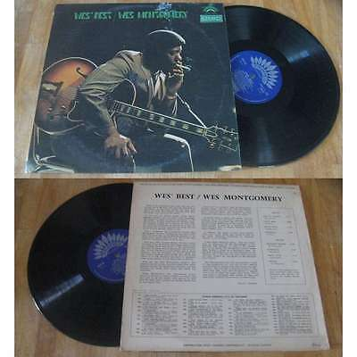 WES MONTGOMERY - Wes' Best LP Rare French Press Blues Jazz