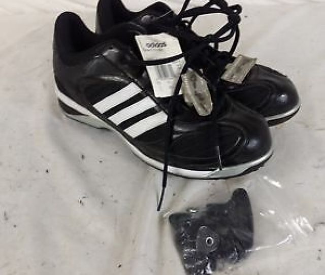 Adidas Excel Ic Pro Mid Baseball Cleats With Interchangeable Spikes