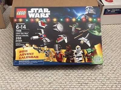 7958 New Misb Lego Star Wars 2011 Advent Calendar Lionellimcom