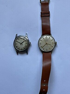 Lot of 2 old men's watches