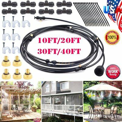 20ft 30ft outdoor water misting system