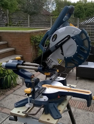 Mac Allister Double Bevel Sliding Mitre Compound Saw 1800w Chop Power
