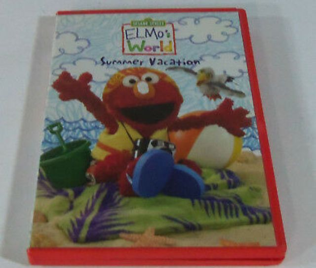 Dvd Elmos World Summer Vacation