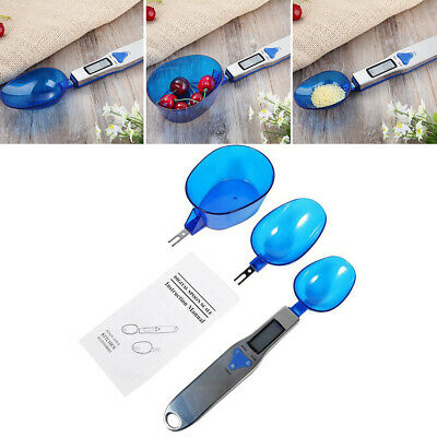 Digital LCD Spoon Electronic Scale Measure Weight Food Home Kitchen Lab