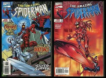 Image result for amazing spiderman 430 431