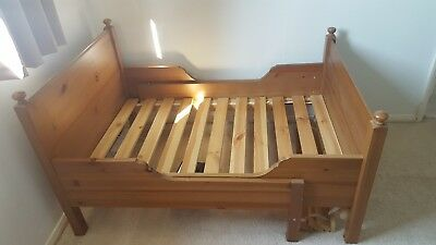 ikea extendable toddler bed leksvik