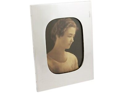 Antique Hallmarked Sterling Silver Photo Frame by Walker & Hall 1913