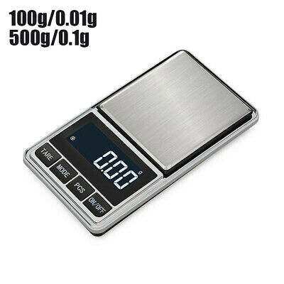 LCD Digital Electronic Scale Jewelry Kitchen Food Weight Gram-Scale