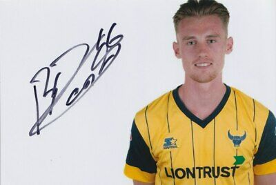 Robbie Cundy Hand Signed 6X4 Photo - Oxford United - Football Autograph 1
