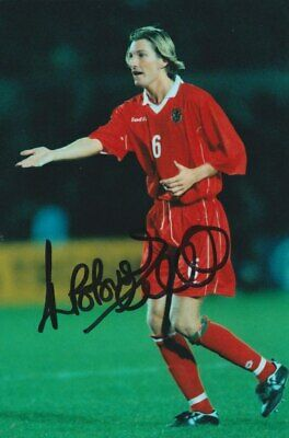 Robbie Savage Hand Signed 6X4 Photo - Wales Autograph - Football 3