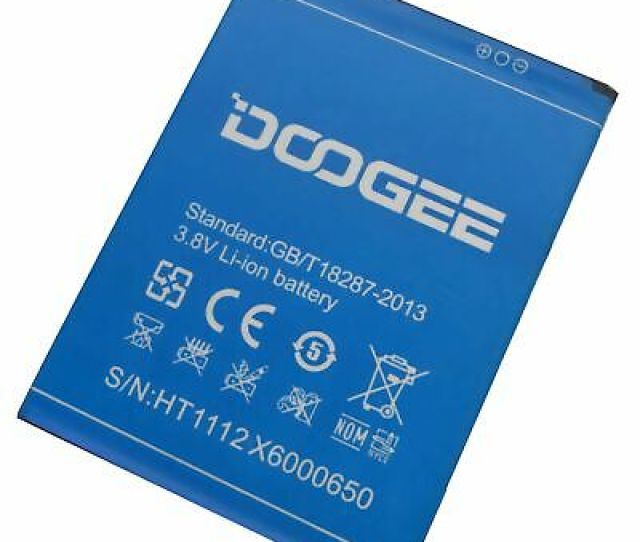 3 8v Li Ion Battery Replacement Parts For Doogee X6 Xmah