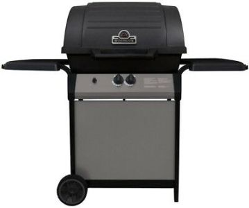HUNTINGTON 42002 Burner Liquid Propane Gas Grill Cast Aluminum Black     2 Burner Propane Gas Grill Cast Iron Two Whells Stainless Steel Black Best  New
