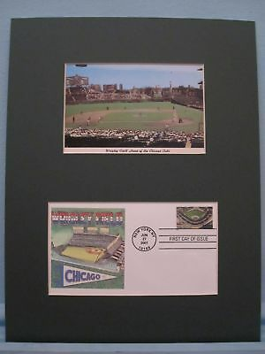 Wrigley Field, home of the Chicago Cubs & First Day Cover of its own stamp
