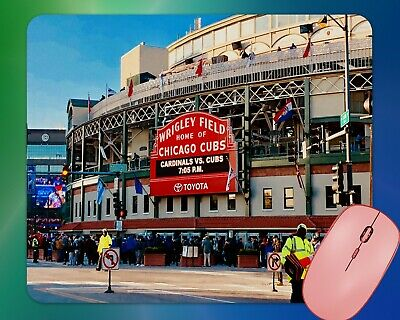 Wrigley Field Home of the Chicago Cubs Mouse Pad
