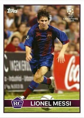 Topps The Lost Rookie Cards Lionel Messi 2004-05 Real Madrid RC Rookie Candidate