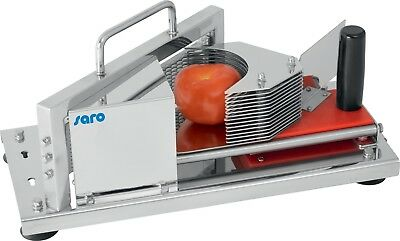 Tomato cutter, manual vegetable cutter, stainless steel catering trade professional
