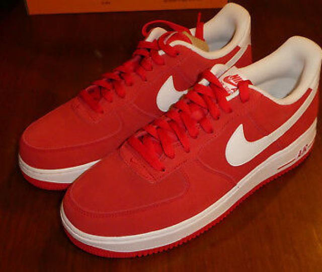Nike Air Force  Shoes Mens New Valentines Red 315122 612