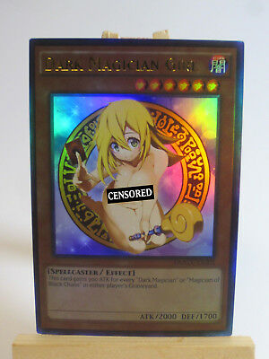 Proxy Orica Custom Sexy Dark Magician Girl 3 Ultra Rare