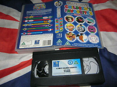 ULTIMATE CHILDRENS FAVOURITES [VIDEO/VHS ] childrens ...