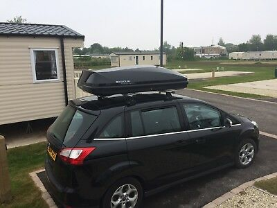 exodus 470l 580l roof box with roof