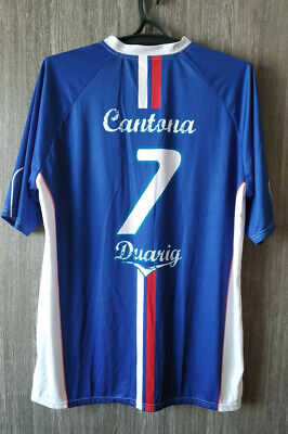 A defamation case brought by france coach didier deschamps against manchester united legend eric cantona, according to legal sources. Retro France National Eric Cantona 7 Football Shirt Soccer Jersey Mens Size Xxxl 11 99 Picclick