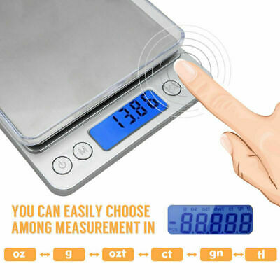 Precision Electronic Scale Jewelry Weighs Digital Scale Deco 0.1g-2000g FR