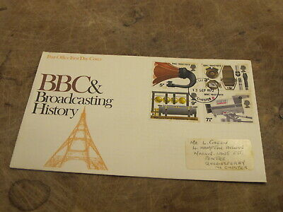 1972 GB FDC / First Day Cover - British Broadcasting Company / BBC