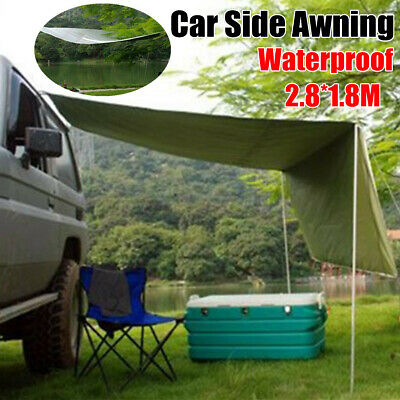 SUV Roof Guard Waterproof Awning Trailer Camping Travel Canopy Car Tent