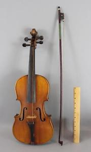 ANTIQUE EARLY 20THC German HB Concert  Figured Maple 4 4 Strad     Antique Early 20thC German HB Concert  Figured Maple 4 4 Strad Violin