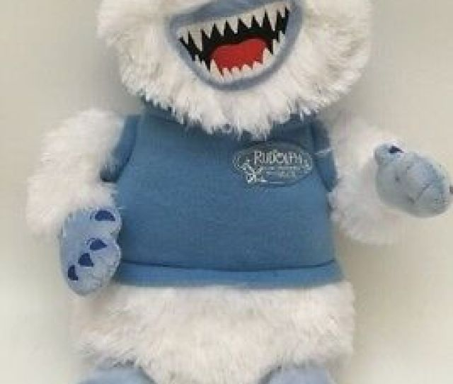Rudolph The Red Nosed Reindeer The Musical Bumble Abominable Snowman Plush Doll